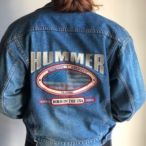 Hummer denim jacket